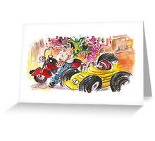 Sicilian Traffic 02 Greeting Card