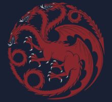 Fire and Blood  Baby Tee