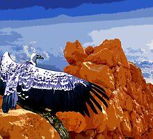 Vulture Spirit Guide by KhanasWeb