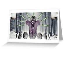 the white witch Greeting Card