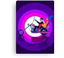 Psychedelic Mid-Life Crisis  Canvas Print