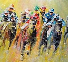 Horse Racing 06 by Goodaboom