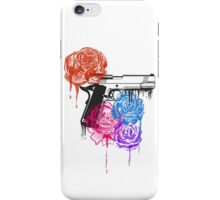 Roses and Guns iPhone Case/Skin