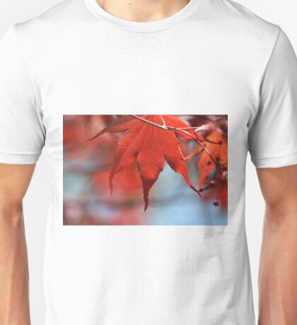 leader in red Unisex T-Shirt