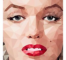 Marilyn Monroe Polyart 2 Photographic Print