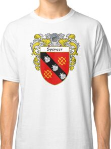 Spencer Coat of Arms / Spencer Family Crest Classic T-Shirt