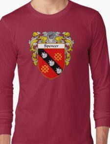 Spencer Coat of Arms / Spencer Family Crest Long Sleeve T-Shirt
