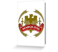 The Marquess Coat-of-Arms Greeting Card