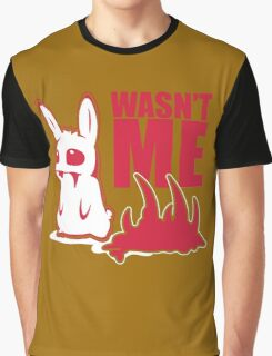 Bunny Wasnt Me Graphic T-Shirt