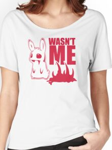Bunny Wasnt Me Women's Relaxed Fit T-Shirt