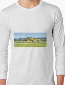 Harvard Takeoff  Long Sleeve T-Shirt