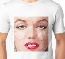 Marilyn Monroe Polyart 2 Unisex T-Shirt