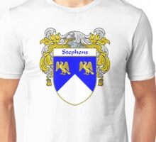 Stephens Coat of Arms / Stephens Family Crest Unisex T-Shirt