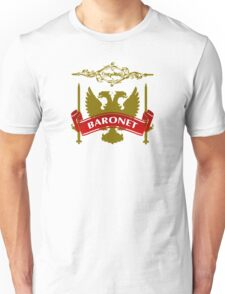 The Baronet Coat-of-Arms Unisex T-Shirt