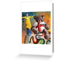 On Top of The World Cup 2014 Greeting Card