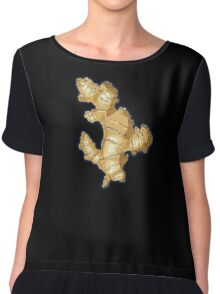 ginger root power Chiffon Top