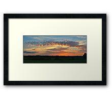 Iowa Sunrise Framed Print