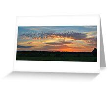 Iowa Sunrise Greeting Card