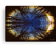 A Planet of Trees Canvas Print