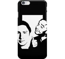 vanilla and chocolate bears - scrubs iPhone Case/Skin
