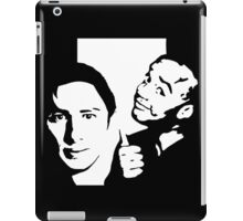 vanilla and chocolate bears - scrubs iPad Case/Skin
