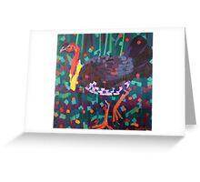 Brush Turkey Greeting Card