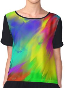 color vibes Women's Chiffon Top