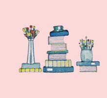 Tulips & Books Kids Tee