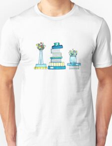 Tulips & Books Unisex T-Shirt