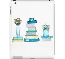 Tulips & Books iPad Case/Skin