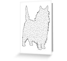 Cairn Terrier Greeting Card