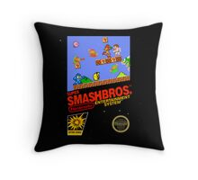"Super Smash Bros. ""Retrofied"" Throw Pillow"