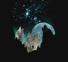 Wolves Mystic MidNight Unisex T-Shirt