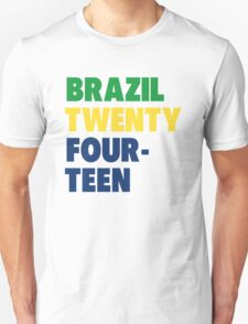 Team Brazil for the World Cup 2014 T-Shirt