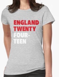 Team England for the World Cup 2014 Womens Fitted T-Shirt