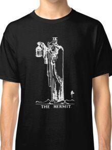 Tarot - The Hermit - Black Classic T-Shirt