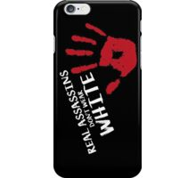 Real assassins iPhone Case/Skin