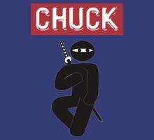 Chuck Ninja Man Classic by ratherkool