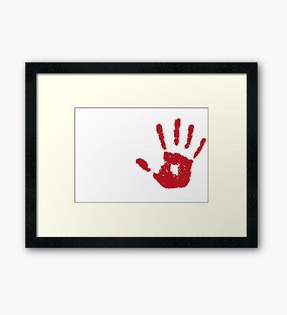 Real assassins Framed Print