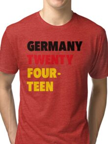Team Germany for the World Cup 2014 Tri-blend T-Shirt