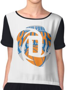 D Rose Knicks Chiffon Top