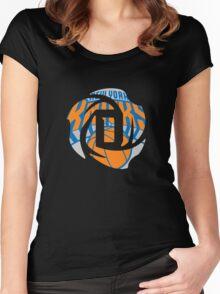 D Rose Knicks Women's Fitted Scoop T-Shirt