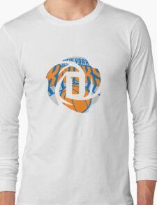 D Rose Knicks Long Sleeve T-Shirt