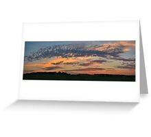 Iowa Sunrise 2 Greeting Card