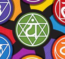 Chakra Circle Sticker