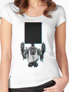 The Prophet-three dee Women's Fitted Scoop T-Shirt