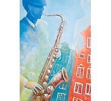 Jazz. Summer. Gdansk Photographic Print