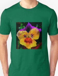 Viola Yellow Unisex T-Shirt