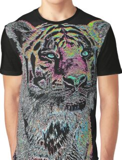 Surreal Tiger Graphic T-Shirt