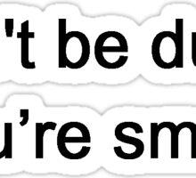 Smart Quotations Sticker